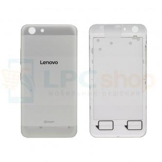 Крышка(задняя) Lenovo Vibe K5 / K5 Plus Серебро