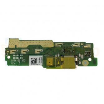 Шлейф разъема зарядки Sony XA1 Ultra G3221 / XA1 Ultra Dual G3212 и микрофон