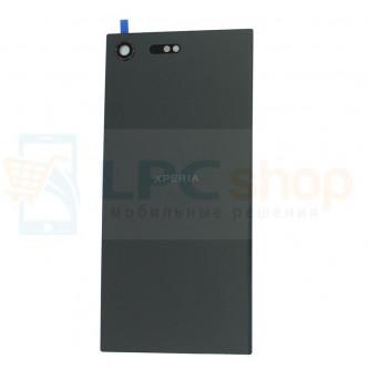 Крышка(задняя) Sony G8141 XZ Premium / G8142 XZ Premium Dual Черная
