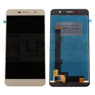 Дисплей Huawei Honor 4C Pro в сборе с тачскрином Золото