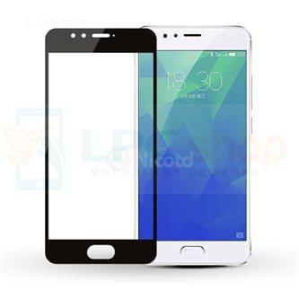 2,5D Защитное стекло (Full Screen) для Meizu M5s (полное покрытие) Черное