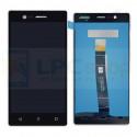 Дисплей для Nokia 3 в сборе с тачскрином Черный