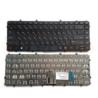 Клавиатура для ноутбука HP Envy 4 без рамки черная
