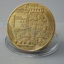 Монета Биткоин (BitCoin) сувенирная Золотая (не являются платёжным средством)