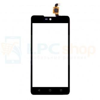 Тачскрин (сенсор) для Micromax Q340 Selfie 2 Черный