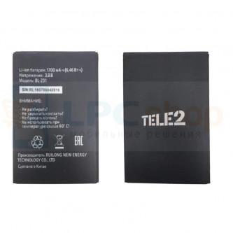 Аккумулятор для Tele2 BL-231 ( Midi )