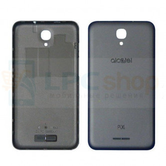 "Крышка(задняя) Alcatel OT-5010D (Pixi 4) (5"") Черная"