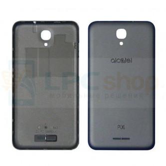 """Крышка(задняя) Alcatel OT-5010D (Pixi 4) (5"""") Черный"""