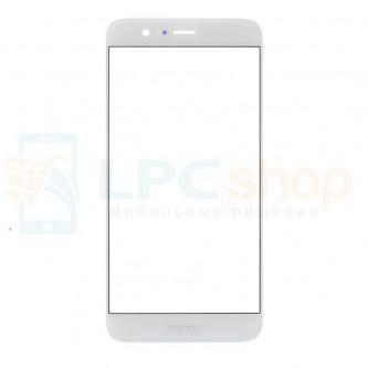 Стекло (для переклейки) Huawei Honor 8 Белое