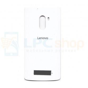 Крышка(задняя) Lenovo A7010 Белая