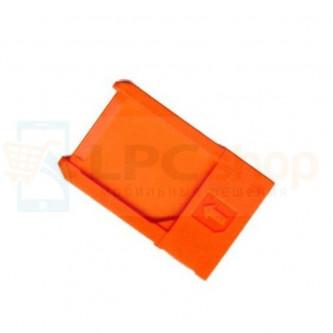Лоток SIM Sony LT28i (Ion) Оранжевый