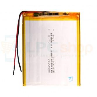 Аккумулятор универсальный 3480102p 3,7v Li-Pol 3500 mAh (3.4*80*102 mm)
