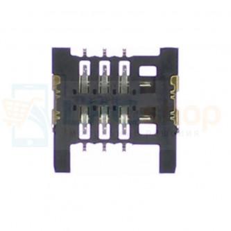 Коннектор SIM-Карты Micromax Q346 / Q341 / Q327 / Q414 / Q326 / S303 / X249+ / D306 / Q333 / Q334 / X401 / X352 / X2050 / X1800