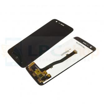 Дисплей для ZTE Blade V8 Lite в сборе с тачскрином Черный