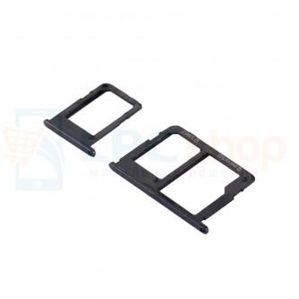 Лоток сим карты Samsung Galaxy J5 Prime G570F / Galaxy J7 Prime G610F Черный