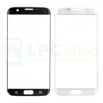 Стекло (для переклейки) Samsung Galaxy S7 Edge G935F Белое