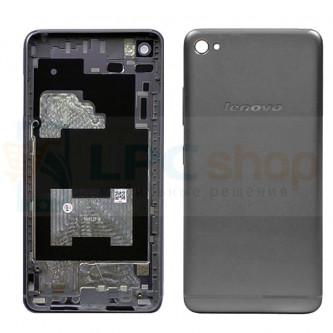 Корпус Lenovo S90 Черный + кнопки и линза камеры