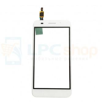 Тачскрин (сенсор) для Huawei Y3 2017 (CRO-L22 /  CRO-U00) Белый