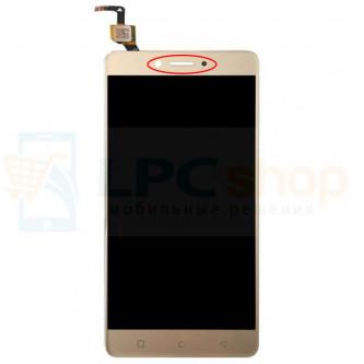 Дисплей для Lenovo K6 Power в сборе с тачскрином Золото