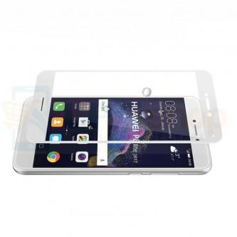 2,5D Защитное стекло (Full Screen) для Huawei Honor 8 Lite Белое (полное покрытие)