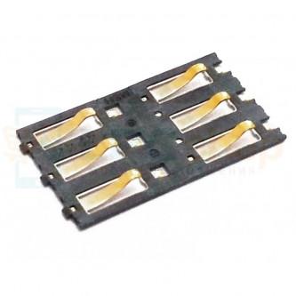 Коннектор SIM-Карты Nokia N9 / X3-02 / C3-01 / C5-03