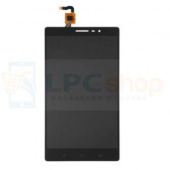 Дисплей для Lenovo Phab2 PB2-650M в сборе с тачскрином Черный