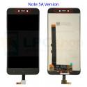 Дисплей для Xiaomi Redmi Note 5A в сборе с тачскрином Черный