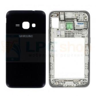 Корпус Samsung J120F (J3 2016) Черный с линзой камеры и кнопками