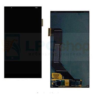 Дисплей для ZTE Axon 7 в сборе с тачскрином Черный