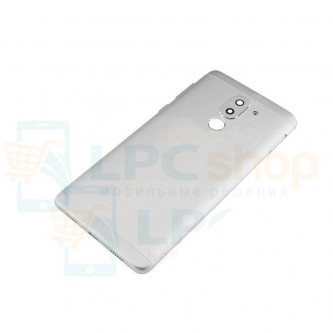 Крышка(задняя) Huawei Honor 6X Серебро + линза камеры + кнопки звука
