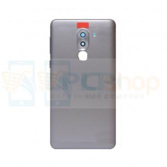 Крышка(задняя) Huawei Honor 6X Серая + линза камеры + кнопки звука