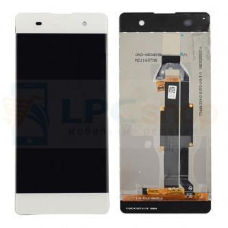 Дисплей для Sony XA F3111 / XA Dual F3112 в сборе с тачскрином Белый