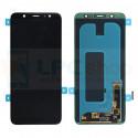 Дисплей для Samsung A6+ 2018 A605F в сборе с тачскрином Черный - Оригинал