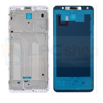 Рамка дисплея для Xiaomi Redmi 5 Белая