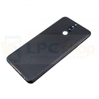 Крышка(задняя) Huawei Nova 2i Черная + Кнопки + Линза Камеры