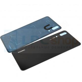 Крышка(задняя) Huawei P20 Черная