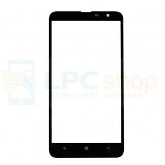 Стекло (для переклейки) Nokia Lumia 1320 Черное