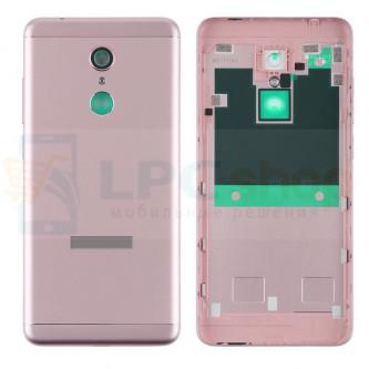 Крышка(задняя) Xiaomi Redmi 5 Розовое золото + Кнопки + Линза Камеры