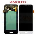 Дисплей для Samsung J320F (J3 2016) в сборе с тачскрином Белый - AAA (AMOLED)