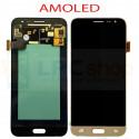 Дисплей для Samsung J320F (J3 2016) в сборе с тачскрином Золото - AAA (AMOLED)