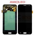 Дисплей для Samsung J320F (J3 2016) в сборе с тачскрином Черный - AAA (AMOLED)