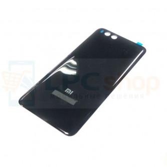 Крышка(задняя) Xiaomi Mi Note 3 Черная (платсик, глянцевая)