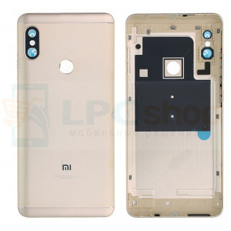 Крышка(задняя) Xiaomi Redmi Note 5 / Note 5 Pro Золото