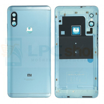Крышка(задняя) Xiaomi Redmi Note 5 / Note 5 Pro Синия