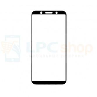 2,5D Защитное стекло (Полное покрытие) для OPPO F5 Черное