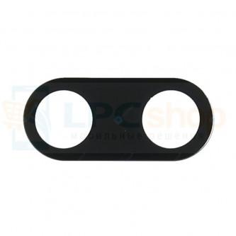 Стекло (для переклейки) камеры Xiaomi Mi A1 / Mi 5X Черное