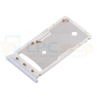 Лоток сим карты и карты памяти Xiaomi Redmi 5A Серый (Gray)