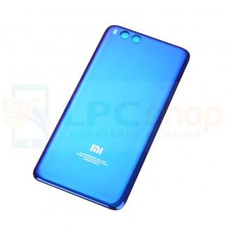 Крышка(задняя) Xiaomi Mi Note 3 Синия  (платсик, глянцевая)