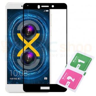 Защитное стекло (Полное покрытие) для Huawei Honor 6X Черное