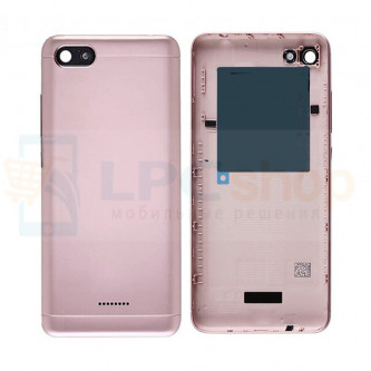 Крышка(задняя) Xiaomi Redmi 6A Розовое золото